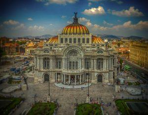 Palacio de las Bellas Artes in Mexico City