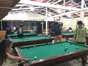 Billiards hall in El Valle, Bahia Solano