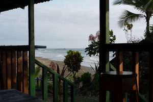 A view from restaurant playa amejal in el valle, bahia solano